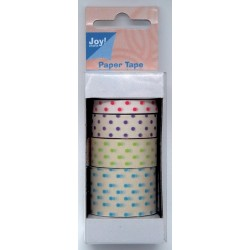 (6300/0480)Paper Tape 7/12/15/25mm