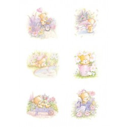 Pergamano vellum Beary greetings (25S)