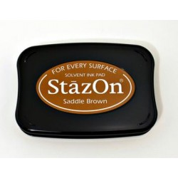 Stamp ink StazOn saddle brown