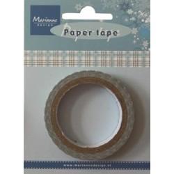 (PT2322)Paper Tape - blue plaid