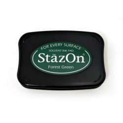 Stamp ink StazOn forest green