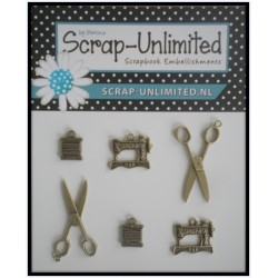 (VB002)Scrap-Unlimited Charms Sew Vintage