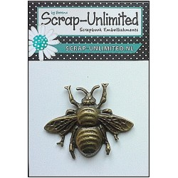 (HD029)Scrap-Unlimited bee