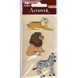 Artwork 185600-50 africa Tiere ass.II