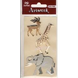 Artwork 185600-49 africa Tiere ass.I