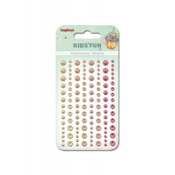 (SCB250001023)ScrapBerry's Adhesive Pearls Kids'Fun 2
