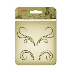 (SCB250001074)ScrapBerry's Curls Wind Of Travel 1 Pearl Swirl