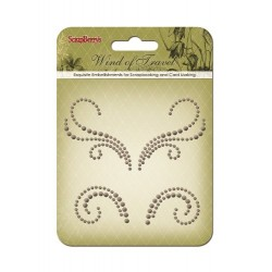 (SCB250001075)ScrapBerry's Curls Wind Of Travel 2 Pearl Swirl