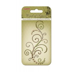(SCB250001077)ScrapBerry's Curls Wind Of Travel 4 Pearl Swirl