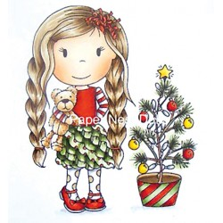 (PND70049)Paper Nest Dolls Christmas Tree Ellie