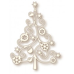 (SD0036)Wild Rose Studio`s Specialty die - Christmas tree