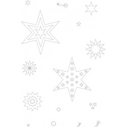 Pergamano clear stamps & block hiver (41908)