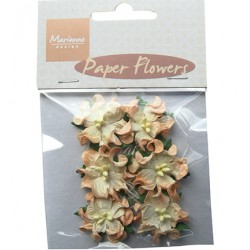 (RB2231)Paper Flowers Orange