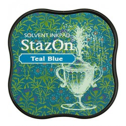 (SZM-63)StazOn midi Teal Blue