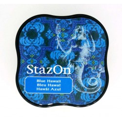 (SZM-65)StazOn midi Blue Hawaii