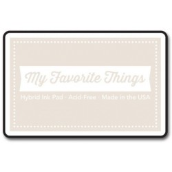 (HPAD_28)My Favorite Things Hybrid Ink Pad Grout Gray