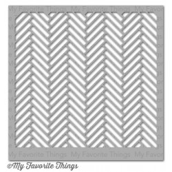 (ST-59)My Favorite Things Stencils Herringbone Bricks