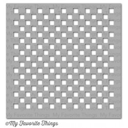 (ST-54)My Favorite Things Stencils Small Checkerboard