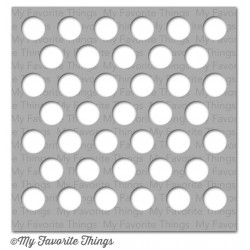 (ST-53)My Favorite Things Stencils Jumbo Polka Dot