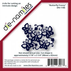 (DN-1186)Die-Namites Butterfly Frenzy