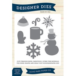 (EPPDIE48)Echo Park Wintertime Designer Dies