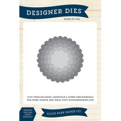 (EPPDIE46)Echo Park Scallop Circle Nesting Set Designer Dies