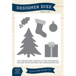 (EPPDIE41)Echo Park Merry Christmas Designer Dies