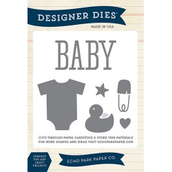 (EPPDIE40)Echo Park Bundle Of Joy Designer Dies