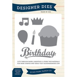 (EPPDIE39)Echo Park Happy Birthday Designer Dies