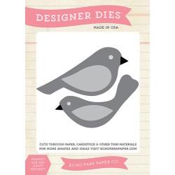 (EPPDIE36)Echo Park Bird Set 1 Designer Dies