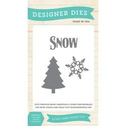(EPPDIE23)Echo Park Winter Chill Designer Dies