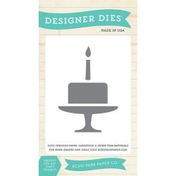 (EPPDIE21)Echo Park Birthday Cake Designer Dies