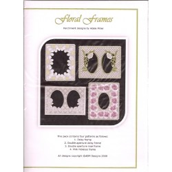 (PP001)Adele Miller: Floral Frames Patterns