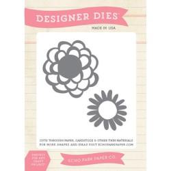 (EPMDIE13)Echo Park Simple Life Flowers Designer Dies