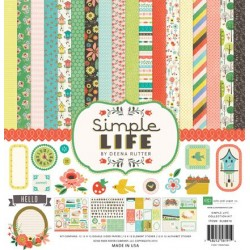 (SL68016)Echo Park Paper Pad Simple Life Collection Kit