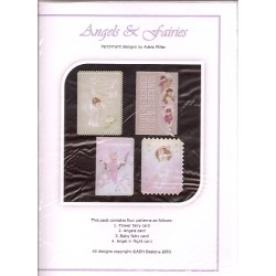 (PP005)Adele Miller: Angels & Fairies Patterns