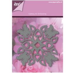 (1201/0093)Lin & Lene stencil frame butterflies