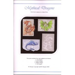 (PP019)Adele Miller: Mythical Dragons Patterns