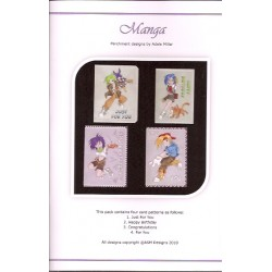 (PP021)Adele Miller: Manga Cards Patterns