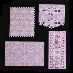 (PP022)Adele Miller: White Lace Patterns