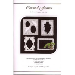 (PP023)Adele Miller: Oriental Frames Patterns