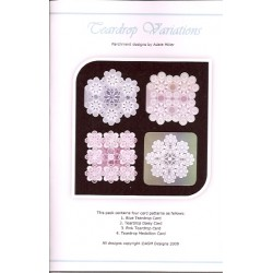 (PP025)Adele Miller: Teardrop Variations Patterns