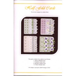 (PP026)Adele Miller: Half Fold Cards Patterns