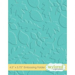 (TEEF11)Taylored Expressions Scattered Leaves Embossing Folder