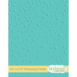 (TEEF09)Taylored Expressions Snowfall Embossing Folder