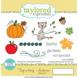 (TEMS83)Taylored Expressions Tag-A-Long Autumn