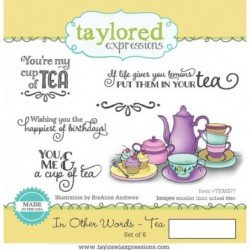 (TEMS77)Taylored Expressions In Other Words Tea
