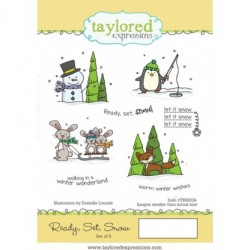 (TEMD34)Taylored Expressions Ready, Set, Snow