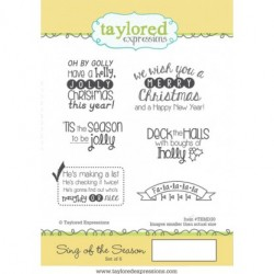 (TEMD30)Taylored Expressions Sing Of The Season