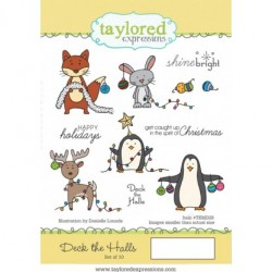 (TEMD28)Taylored Expressions Deck The Halls